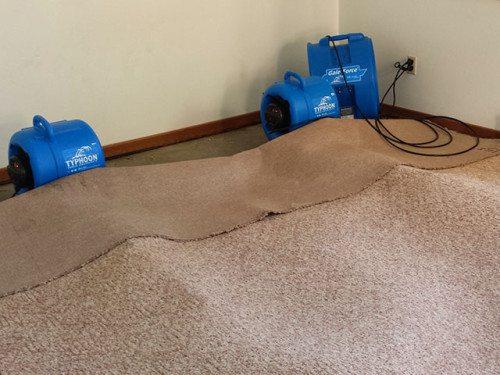 water damage Water restoration fans